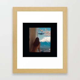 UFO GTFO Framed Art Print