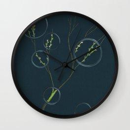 Spring's Rings Etc. Wall Clock