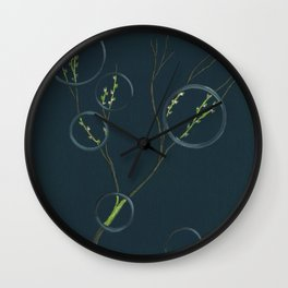 Spring's Rings Etc. Wall Clock