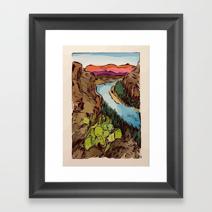 Big Bend National Park Gerahmter Kunstdruck