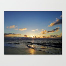 smell the sea and feel the sky Canvas Print