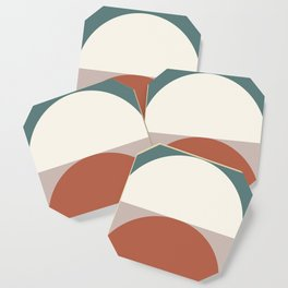 Abstract Geometric 01D Coaster