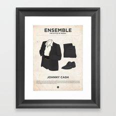 Ensemble - Johnny Cash Framed Art Print