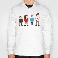 seinfeld Hoodies featuring Pixel Seinfeld by Vectorific Design