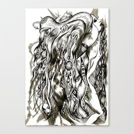 Celestial Shivers Canvas Print