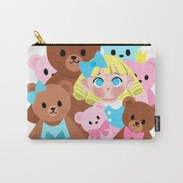 Goldilocks and the Teddy Bears Carry-All Pouch