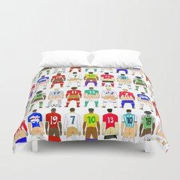 Soccer Butts Duvet Cover