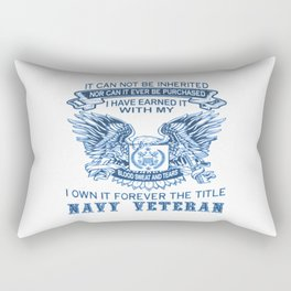 NAVY VETERAN Rectangular Pillow