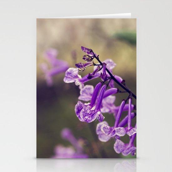 Mona Lavender Stationery Cards