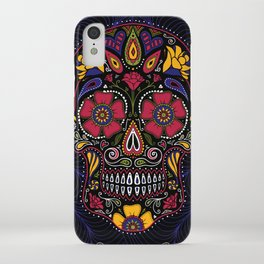 Day of the Dead Sugar Skull iPhone Case