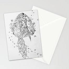 Ostara sketch Stationery Cards