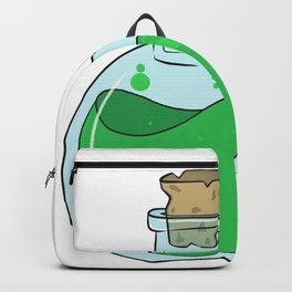 Green Potion Backpack
