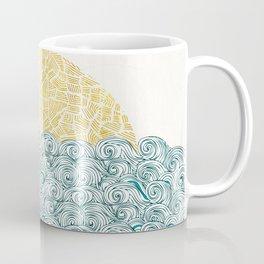 Sunny Tribal Seas Coffee Mug