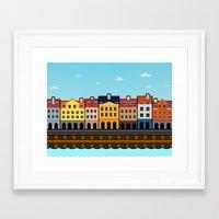 copenhagen Framed Art Prints featuring Copenhagen by Al Power
