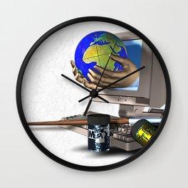 IT Fantasy Wall Clock