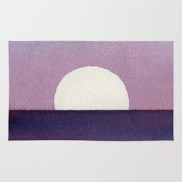 Moonset Watercolor Rug