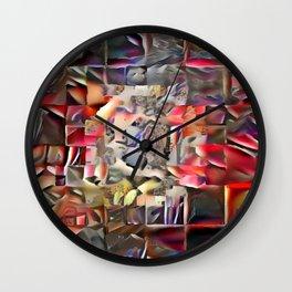 (Was) Green Mold Mandala 6 Wall Clock