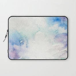 Colored Sky Watercolor Painting Laptop Sleeve