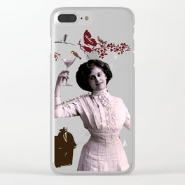 I need a drink Clear iPhone Case