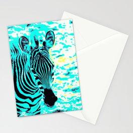 Pop Art Zebra 1 Stationery Cards