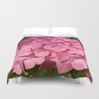 hydrangea Duvet Covers featuring Hydrangea by Susann Mielke
