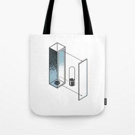 The Exploded Alphabet / I Tote Bag