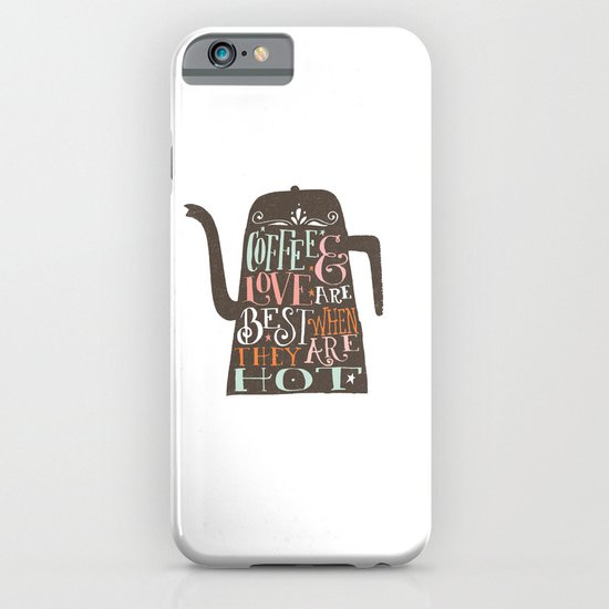 COFFE & LOVE iPhone & iPod Case