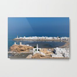 Sur town near Muscat - Oman Metal Print