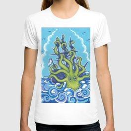 The Kraken Abides T-shirt