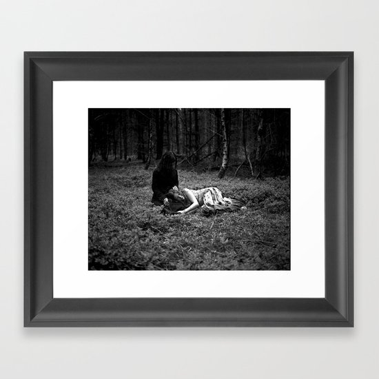 Clearing  Framed Art Print