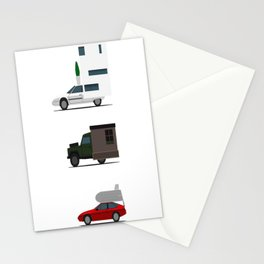 Motorhome challenge Stationery Cards