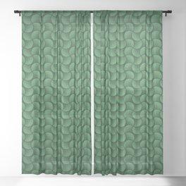 Pattern 046: Undulations III Sheer Curtain