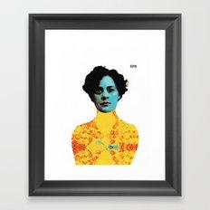 Lady Zen Framed Art Print