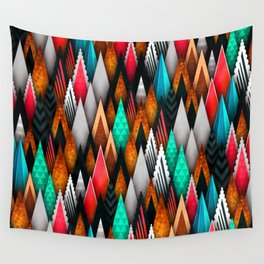 Fly Peaks Wall Tapestry