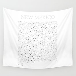 New Mexico LineCity W Wall Tapestry