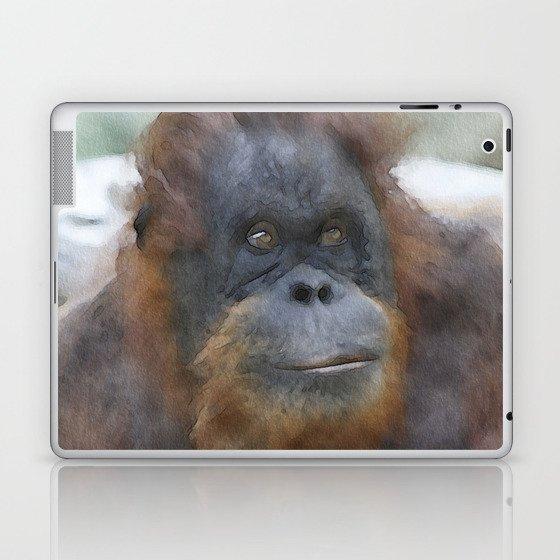 WColor Orang Utan 1 Laptop & iPad Skin