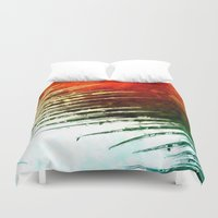 leaf Duvet Covers featuring Leaf by Alexandre Reis