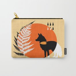 The Fox & the Fern Carry-All Pouch