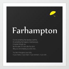 Farhampton Art Print