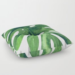 Monstera Leaf Floor Pillow