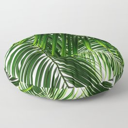 Palm Leaves #3 Floor Pillow