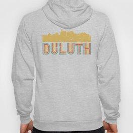 Retro Duluth Minnesota Skyline Hoody