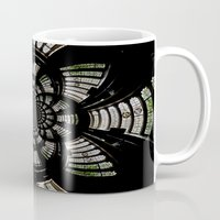fractal Mugs featuring Fractal by Aaron Carberry