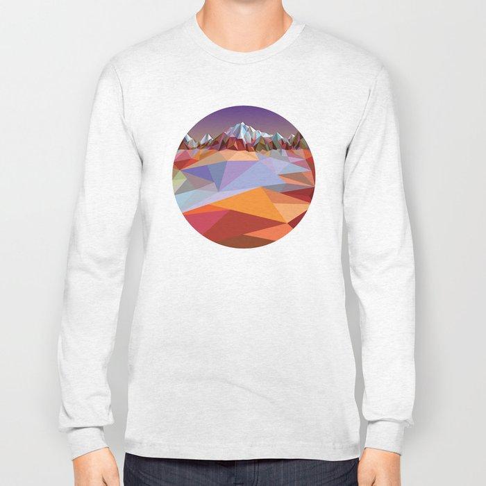 Night Mountains No. 23 Long Sleeve T-shirt