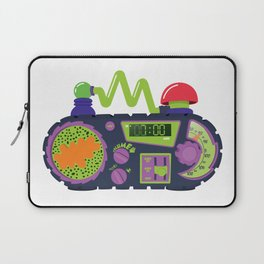 Nickelodeon Clock Laptop Sleeve