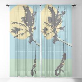 We were so Sheer Curtain