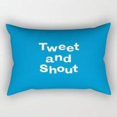 Tweet & Shout! Rectangular Pillow