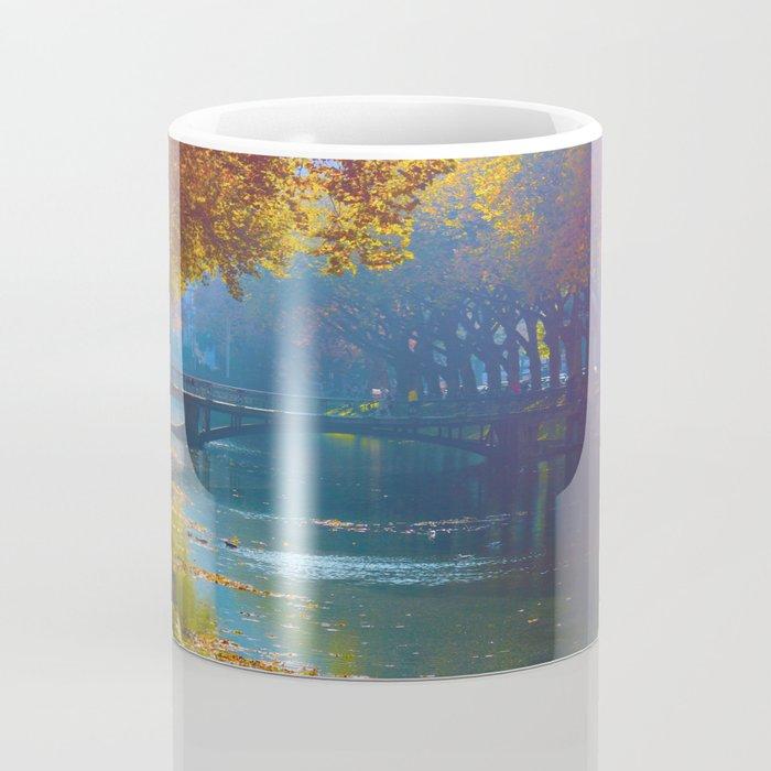 Duesseldorf Koegraben, Koenigsallee im Herbst Coffee Mug