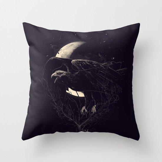 NightFlight Throw Pillow