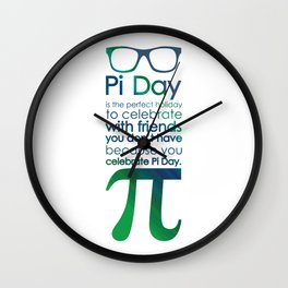 Pi Day 2 Wall Clock